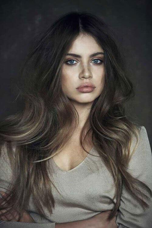 Beautiful Long Hair model